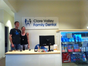 The new Clare Valley Family Dental clinic in Clare