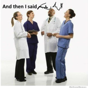 Doctor handwriting - then and now