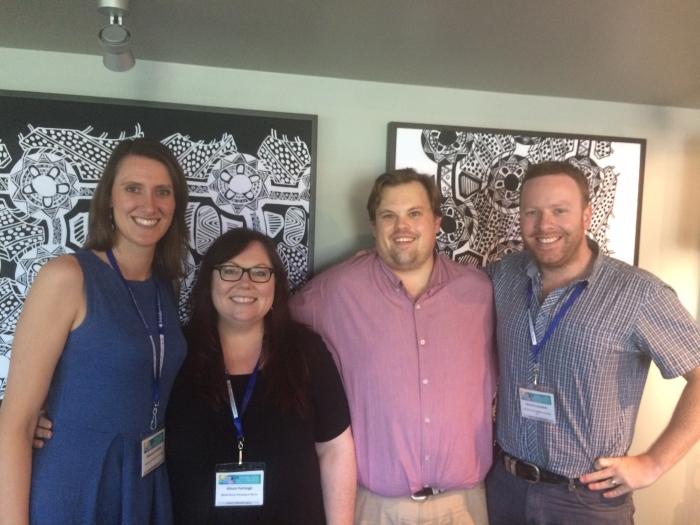 Social Media Workshop team at NRHC 2015