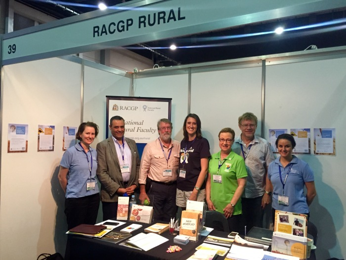 RACGP National Rural Faculty at National Rural Health Conference 2015